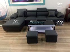 Ghế sofa da giá rẻ đẹp hiện đại, sofa chung cư