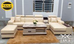 mẫu ghế Sofa Da Hàn Quốc đẹp giá rẻ, sofa phòng khách chung cư hiện đại