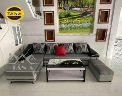 ghế sofa vải giá rẻ cho phòng khách nhỏ gọn