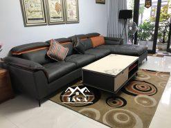Sofa Vải Giả Da Cao Cấp TA-2065 Nhập Khẩu