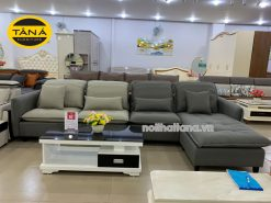 ghế sofa vải giả da cao cấp nhập khẩu malaysia