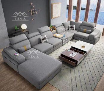 Bộ bàn ghế sofa phòng khách nhỏ gọn giá rẻ